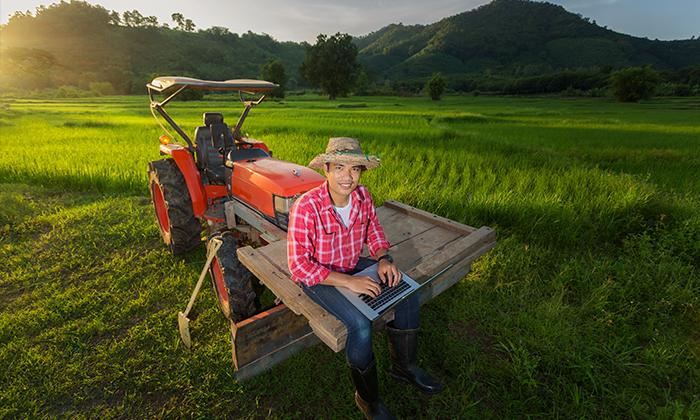 การเกษตร จะเป็นเรื่องที่ง่ายหากคุณเลือกใช้เทคโนโลยี