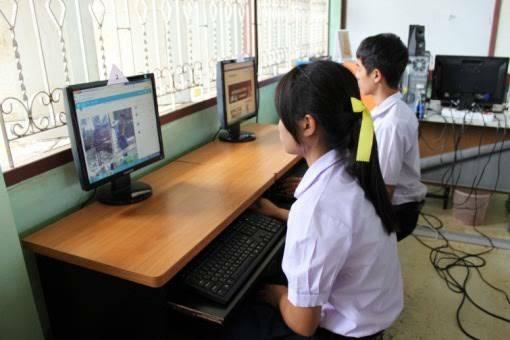 การศึกษาด้วยเทคโนโลยี