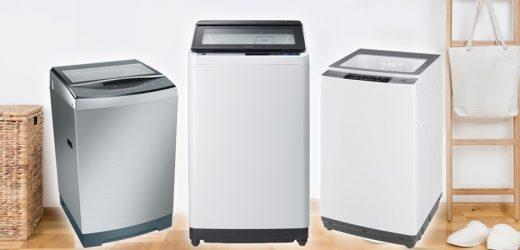 เครื่องซักผ้าแบบฝาบน เป็นเทคโนโลยีที่ทันสมัย และมีคุณภาพมากที่สุดแห่งปี 2020
