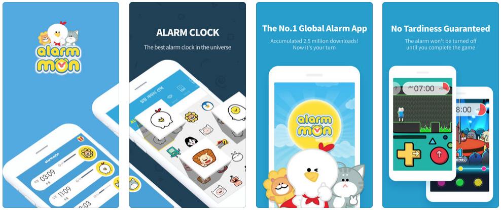 แอพพAlarm Mon ( alarm clock )ลิเคชั่นสร้างความขยัน