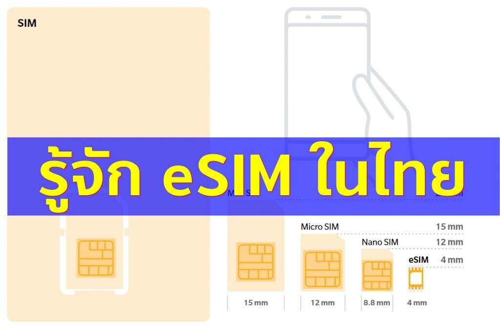 เทคโนโลยีตัวใหม่ eSIM