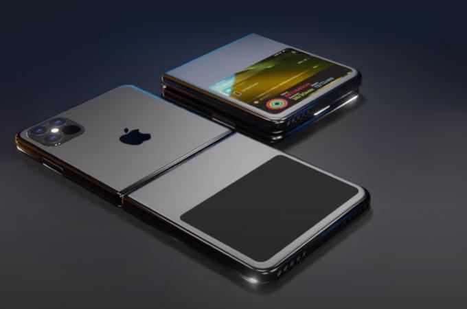iPhone พับได้ ทดสอบตัวต้นแบบแล้ว
