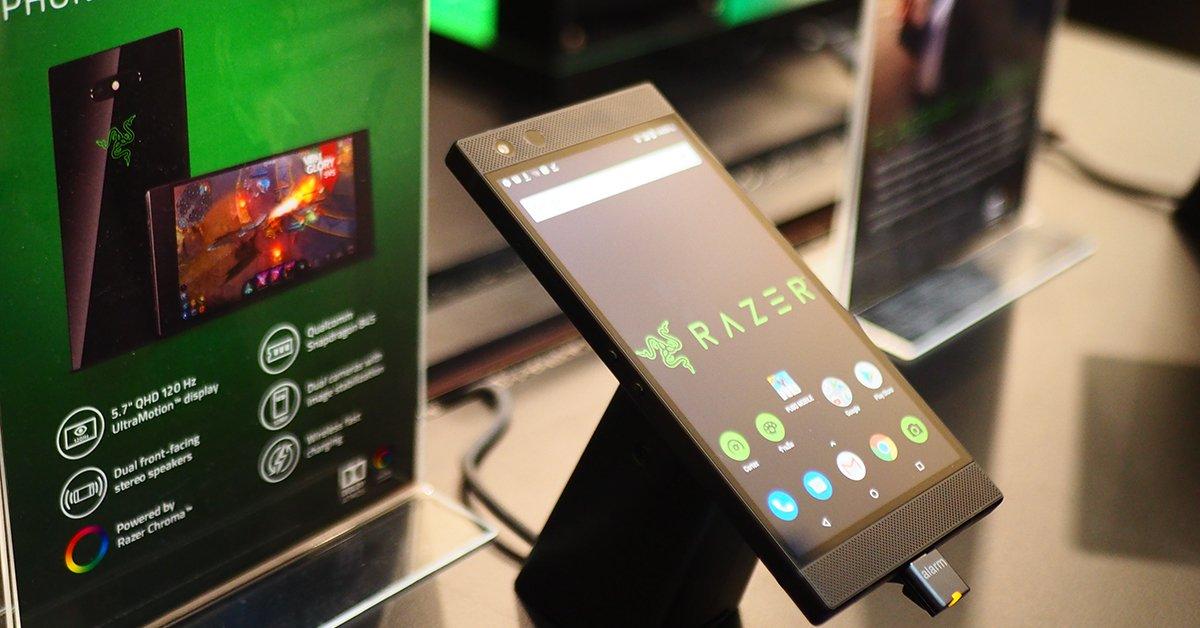 Razer รุ่น Phone 2 สมาร์ทโฟนที่สาวกเกมเมอร์คู่ควรมีระบบระบายความร้อนในตัวสเปคสูงปี๊ด