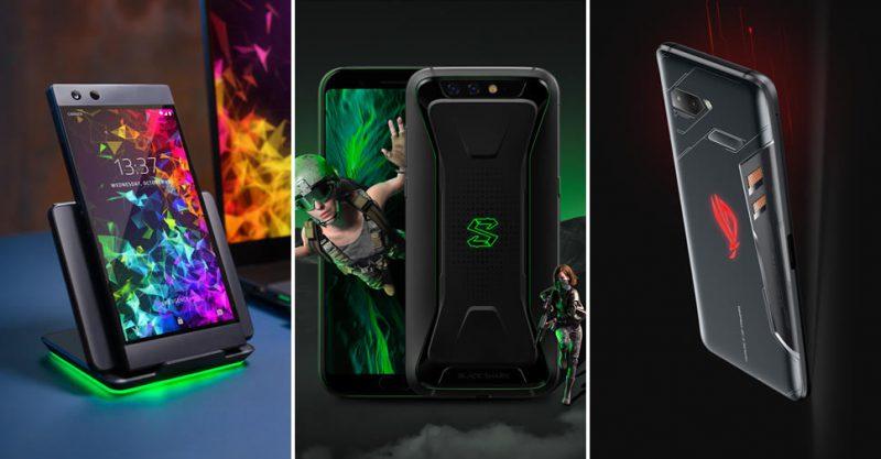 โทรศัพท์ Razer รุ่น Phone 2