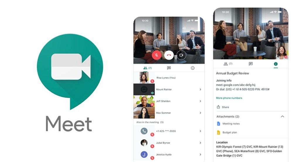 แอพพลิเคชั่น Google Meet