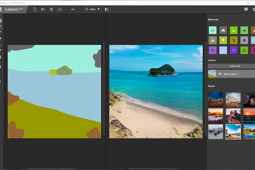 Nvidia Canvas รองรับเฉพาะเครื่องที่มีการ์ดจอซีรีส์ RTX