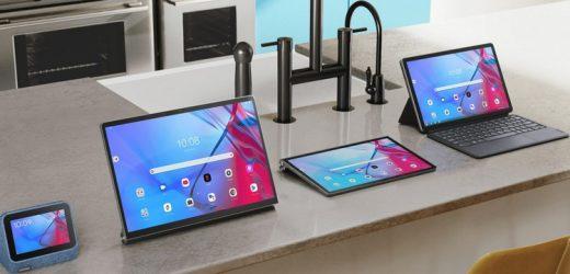 แท็บเลตใหม่จาก Lenovo ที่เปิดตัวพร้อมกันห้ารุ่นพร้อมกับหน้าจอขนาด 13 นิ้ว