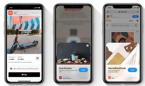 iOS 15 ที่จะเพิ่มฟีเจอร์ App Clip ลงในซาฟารี
