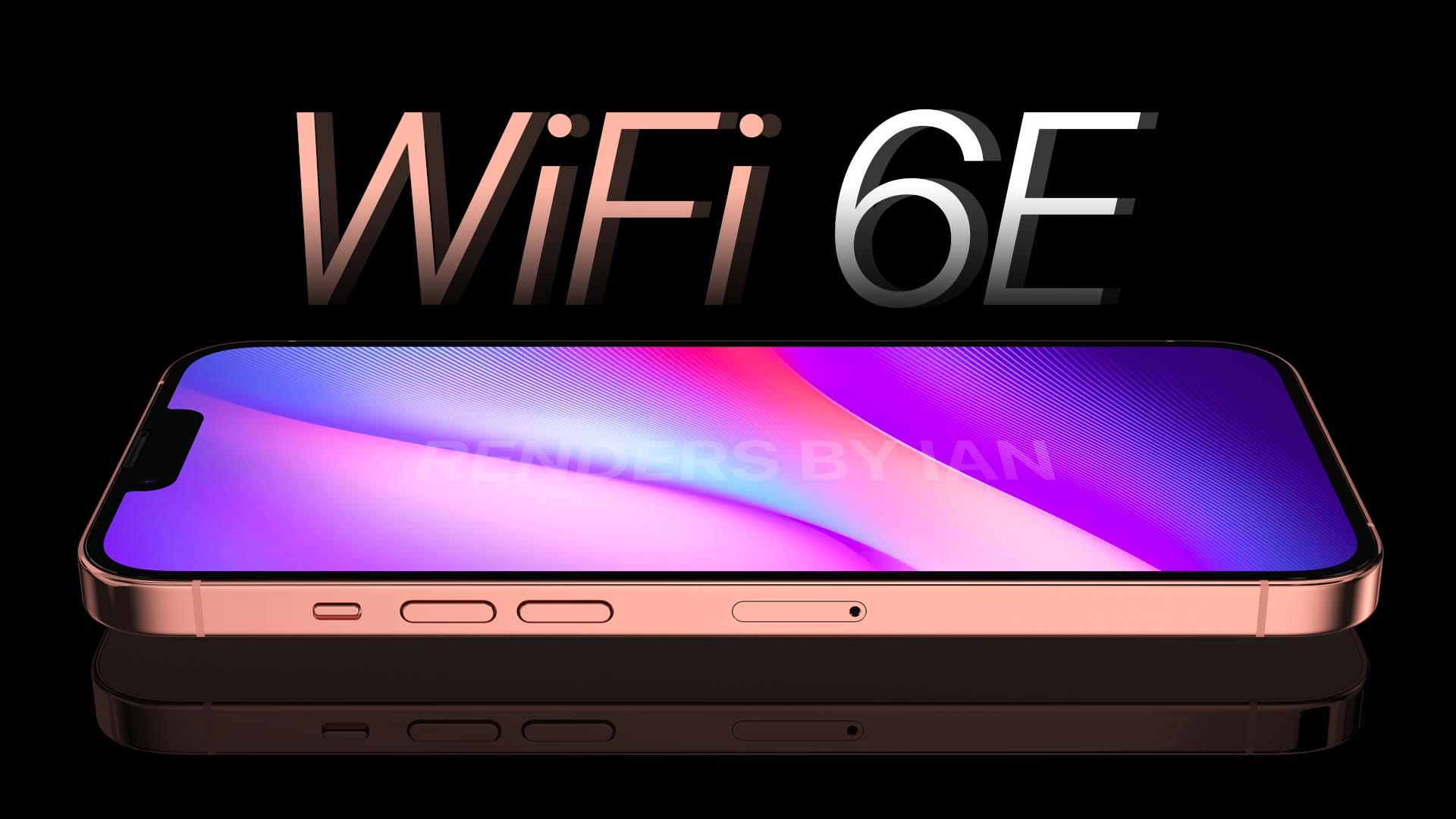 iPhone 13 ที่จะรองรับสัญญาณ WiFi 6E เป็นตัวแรกของ Apple เป็นสัญญาณอินเตอร์เน็ตไร้สายที่ไวที่สุด