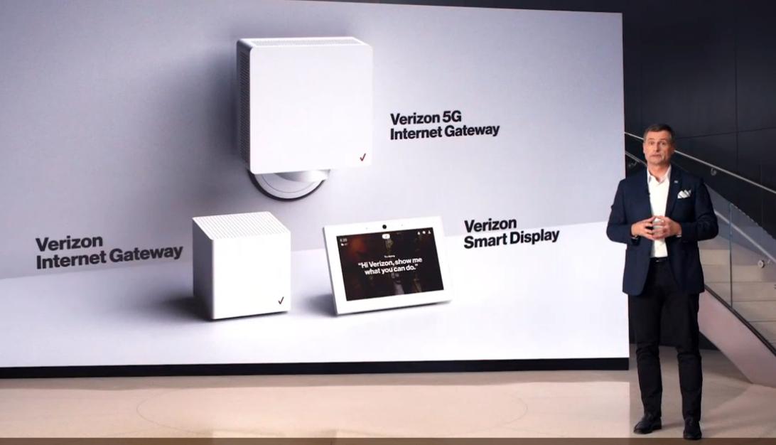 Smart Display จออัฉริยะของ Verizon ที่เปิดตัวในตลาดอเมริกา