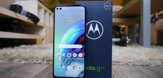 Moto G100 โทรศัพท์สเป็คสูงราคาประหยัดจากMotorola กับแบตเตอรี่ตัวใหญ่ที่ใช้งานได้ทั้งวัน